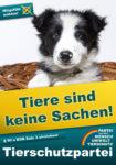 Forderung im Wahlprogramm: Tiere nicht wie Sachen behandeln!