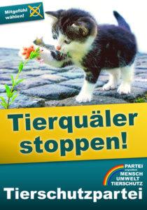 Nach der Bundestagswahl 2021 endlich Tierquäler stoppen