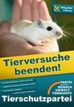 Nach der Bundestagswahl 2021 endlich Tierversuche beenden!