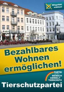Wahlprogramm 2021: Bezahlbares Wohnen ermöglichen!