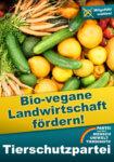 Kernforderung im Wahlprogramm: biovegane Landwirtschaft fördern