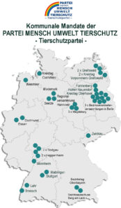 Unsere Mandate auf einer Deutschland-Karte
